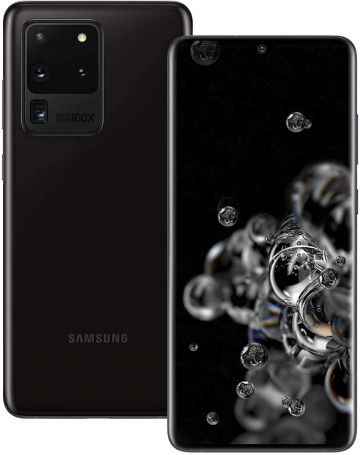 Samsung Galaxy S20 Ultra 5G (128GB) Cosmic Black