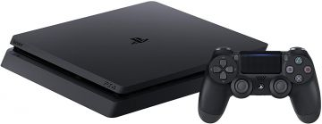 Sony PlayStation 4 500GB with DualShock 4 Controller - Black