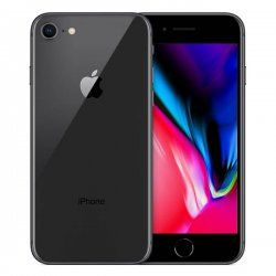 iPhone 8 64GB Refurbished Bundle with Accessories - Black