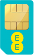 1 month EE 30 Day SIM Only