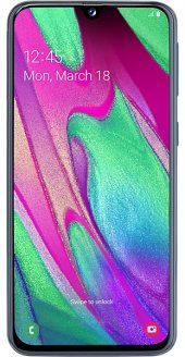 Samsung Galaxy A40 64GB  - Black