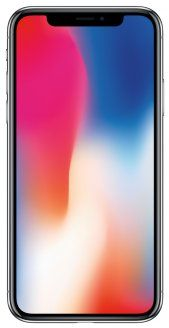 iPhone X 256GB Refurbished (Apple Certified) - Silver
