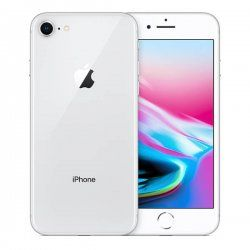 iPhone 8 64GB Refurbished Bundle with Accessories - Silver