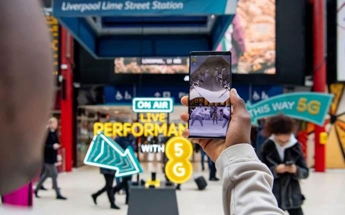 EE switches on 5G in six more cities across the UK