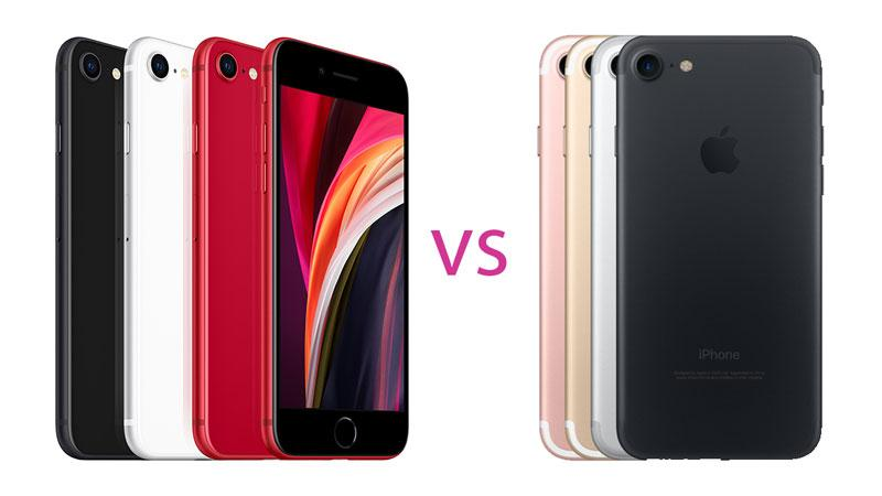 iPhone SE (2020) versus iPhone 7   What's the difference?