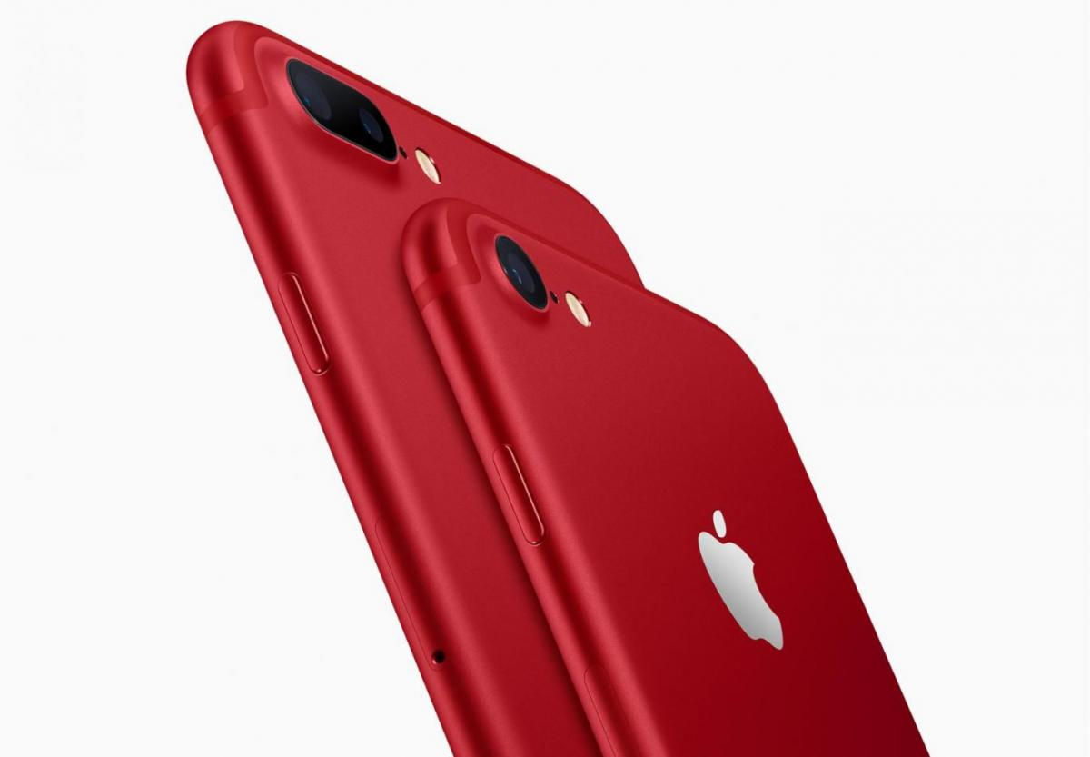 Apple Unveil iPhone 7 Red Special Edition