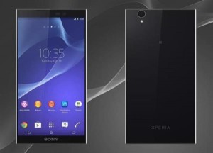 Mock up for the Sony Xperia Z3