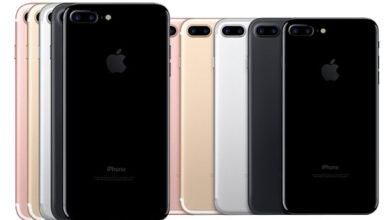 iPhone 7 all colours