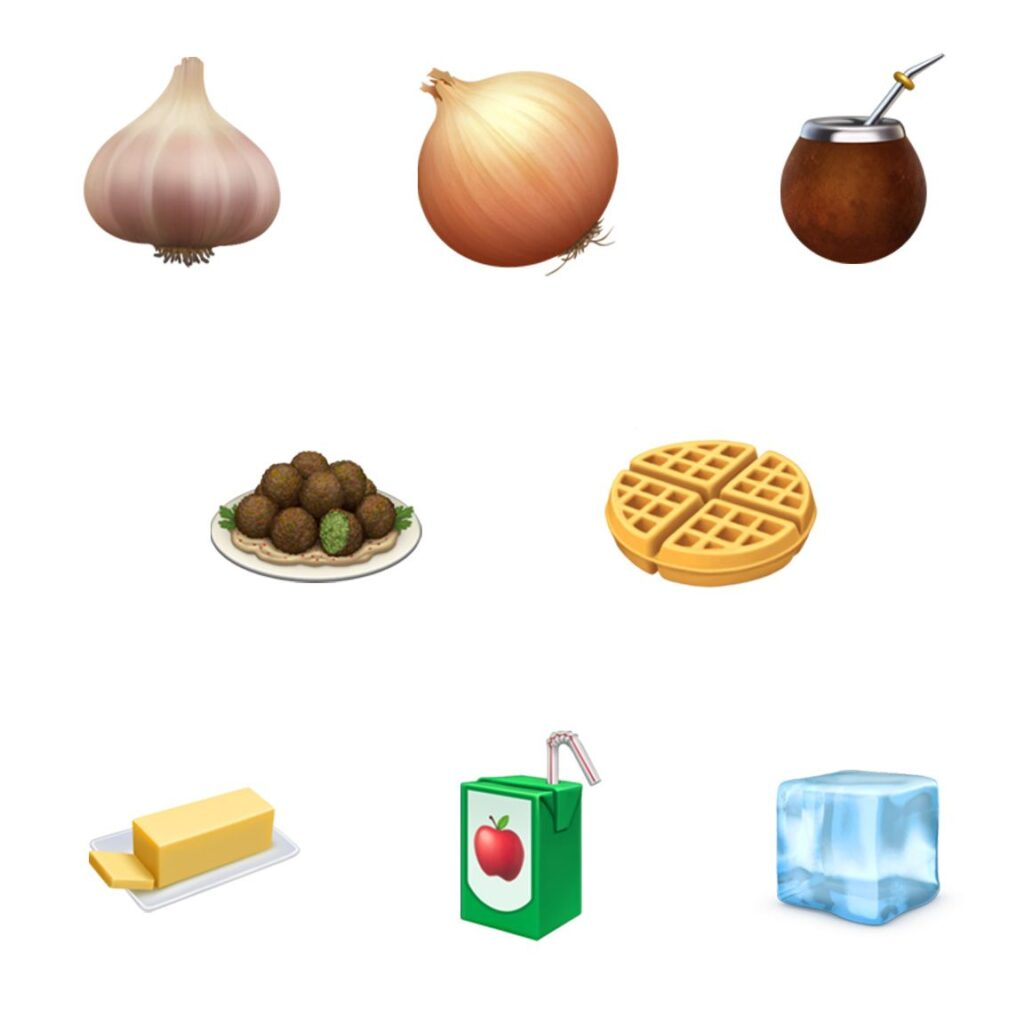 New emoji available for 2019